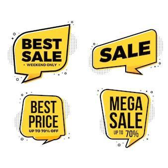 Migliore raccolta di tag etichette di vendita