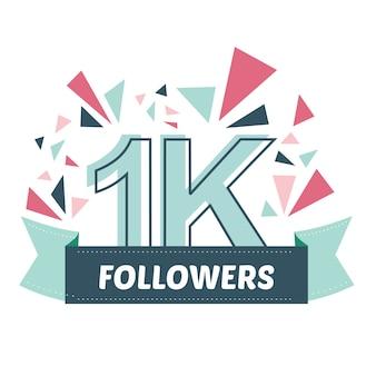 Mille follower grazie banner