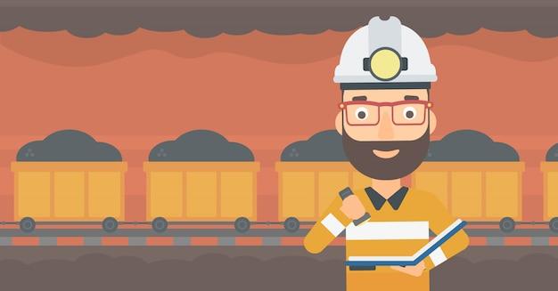 Miner controllo dei documenti.