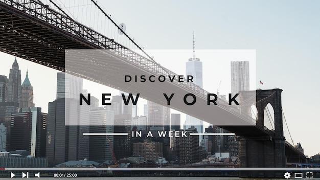 Miniatura di youtube concetto di viaggio