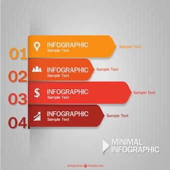 Minimo vector infografica