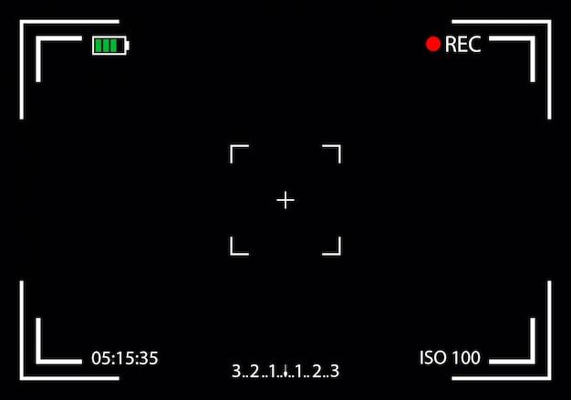 Mirino della fotocamera, mirorless, dslr messa a fuoco digitale