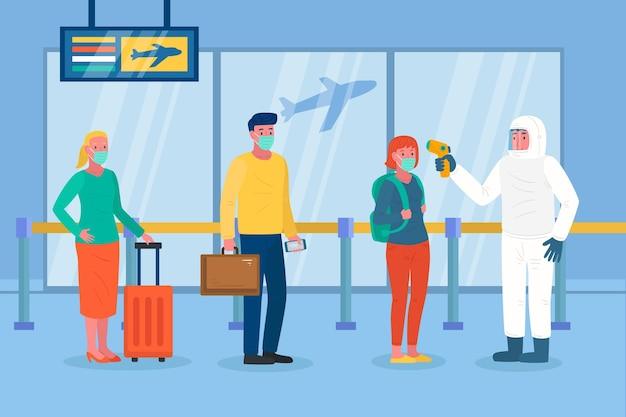 Misure preventive aeroportuali