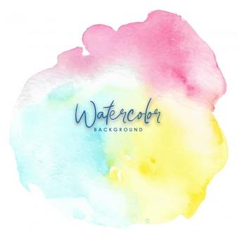 Mix colori arcobaleno splash acquerello