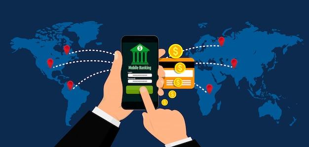 Mobile banking nel mondo, pagamenti mobili e transazioni in denaro