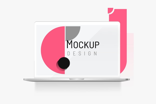 Mockup di dispositivo digitale