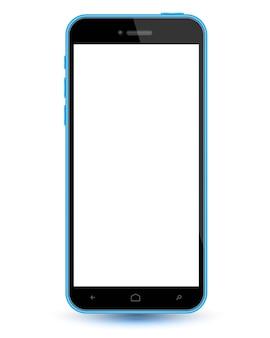 Mockup di vettore realistico di smartphone