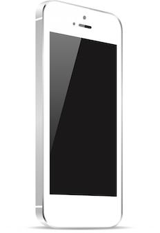 Mockup reattivo per smartphone altamente dettagliato