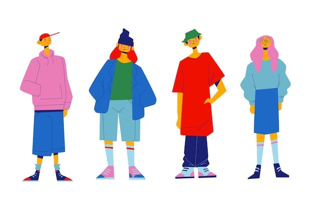Moda giovani coreani