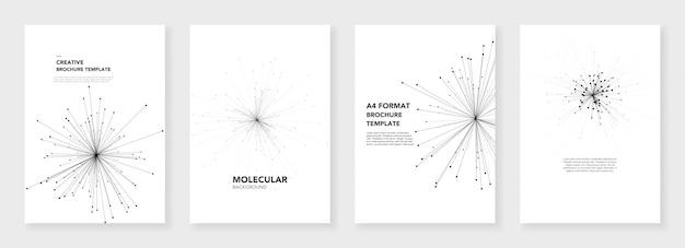 Modelli di brochure minimi