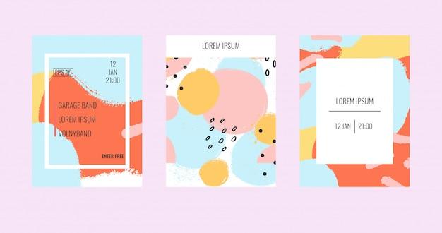 Modelli di brochure universali contemporanei.