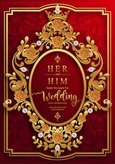 Modelli di carta di invito matrimonio