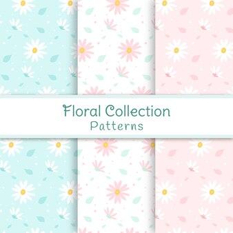 Modelli di collezione floreali