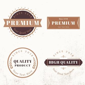 Modelli di design del logo