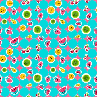 Modelli di frutta estiva