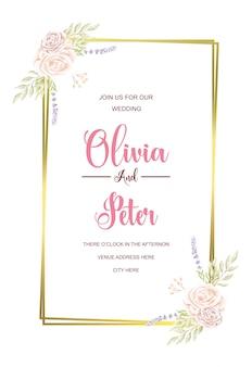 Modelli di inviti di nozze