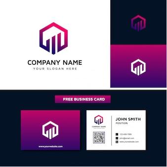 Modelli di logo aziendale di finanza