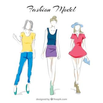 Modelli di moda