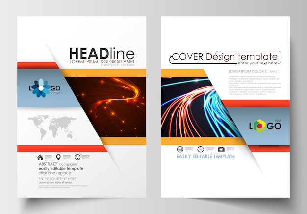 Modelli per brochure, flyer, opuscolo.