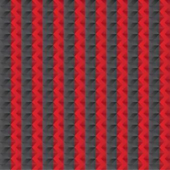 Modello a zig-zag senza soluzione di continuità per il tessile