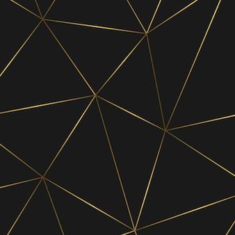 Modello astratto geometrico dorato. modello per il compleanno, matrimonio, anniversario, progettazione di biglietti da visita