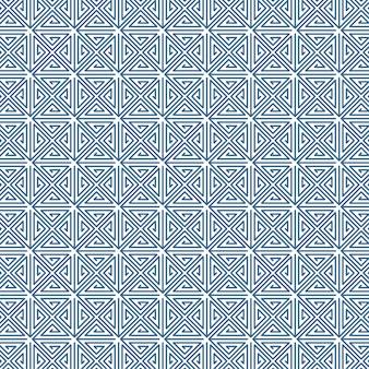 Modello astratto linea senza soluzione di continuità. sfondo vettoriale