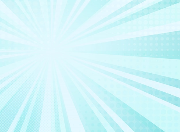 Modello astratto radianza soleggiato di sfondo mezzitoni comici