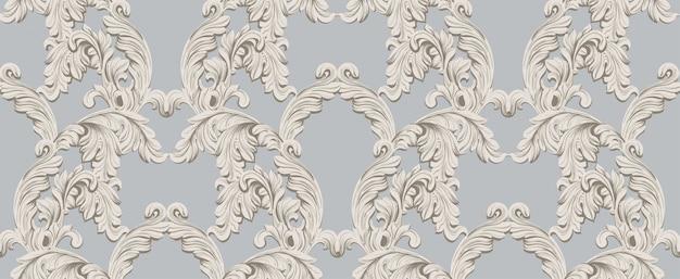 Modello barocco per invito, matrimonio, biglietti di auguri. illustrazione decori ornamento fatto a mano