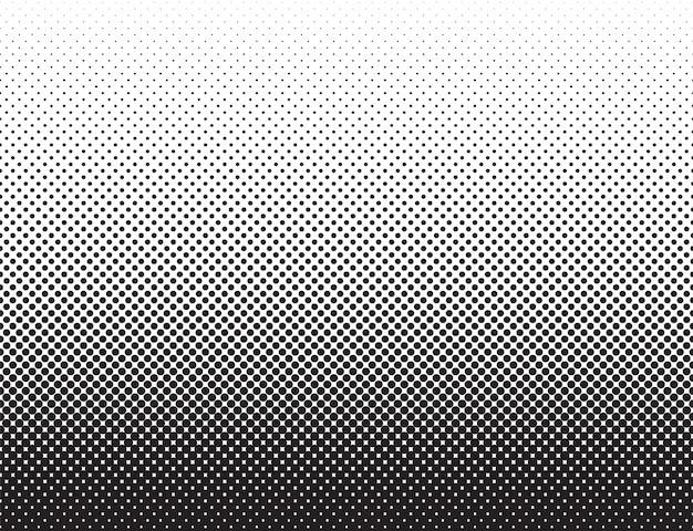 Modello bianco del nero di stile astratto dei fumetti del fondo