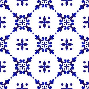 Modello blu carino
