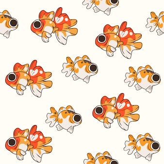 Modello carino pesce dorato