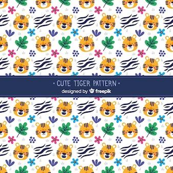 Modello carino tigre