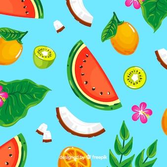 Modello colorato frutto tropicale