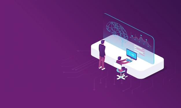 Modello con creazione di intelligenza artificiale