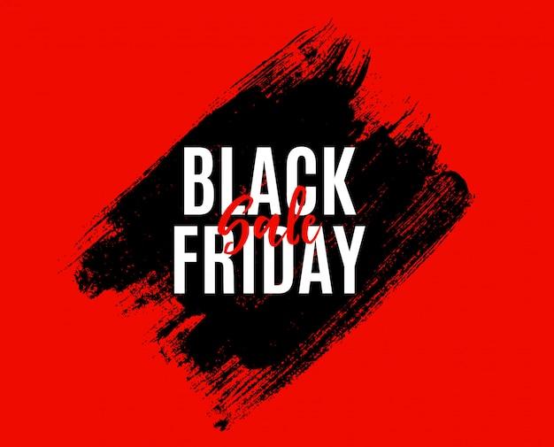 Modello dell'insegna di vendita di black friday.