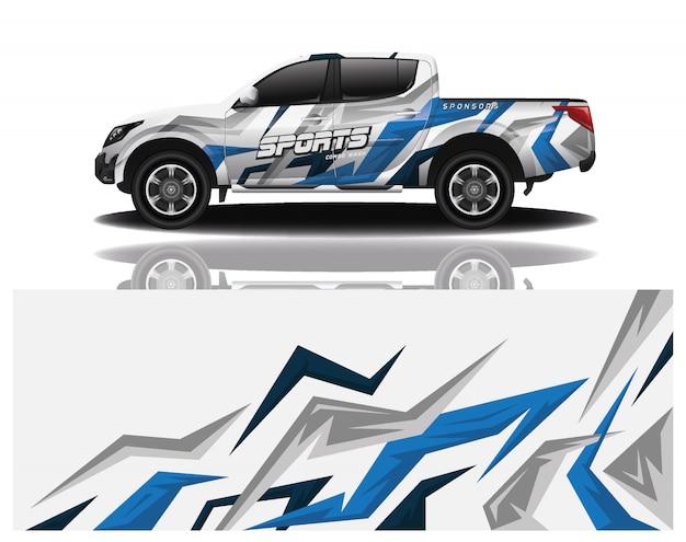 Modello dell'involucro della decalcomania dell'automobile del camion