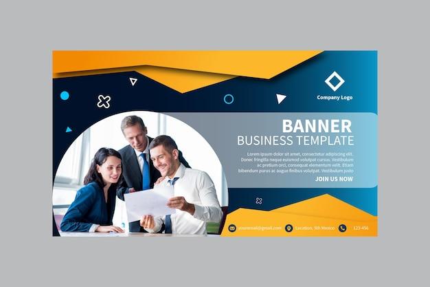 Modello della bandiera di affari