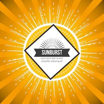 Modello dello sprazzo di sole