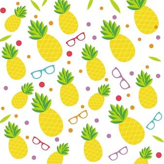 Modello di ananas