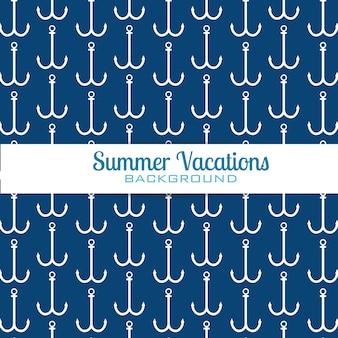 Modello di ancore vacanze estive