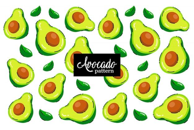 Modello di avocado