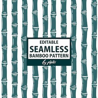 Modello di bambù senza cuciture modificabile