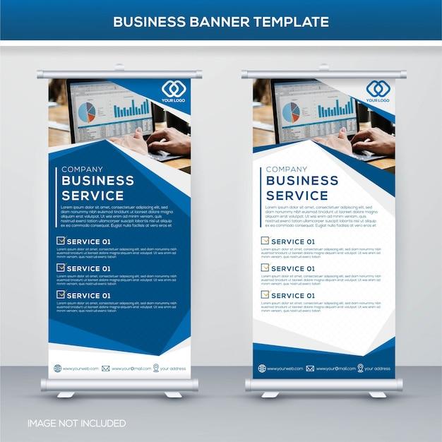 Modello di banner di business
