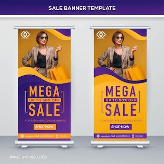 Modello di banner di vendita