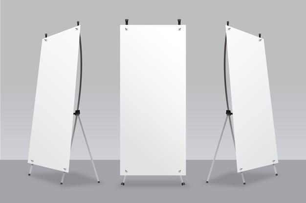 Modello di banner x stand