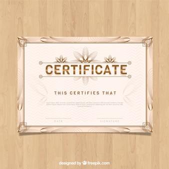 Modello di bordo certificato d'epoca