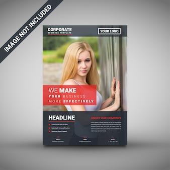 Modello di brochure aziendale creativo