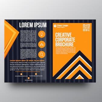Modello di brochure di business creativo