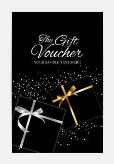 Modello di buono regalo per il tuo business