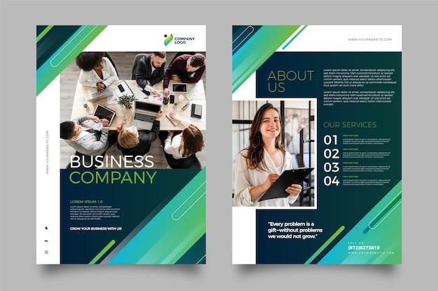 Modello di business con foto